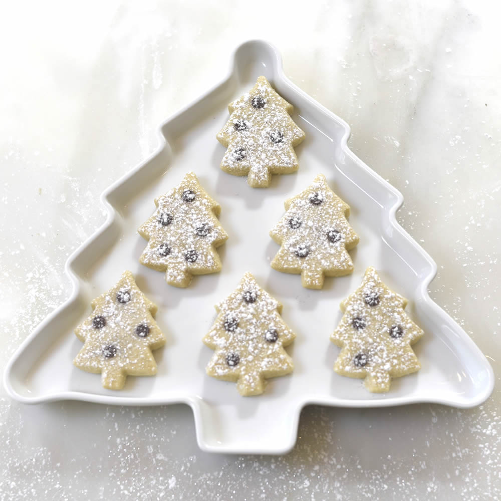 Christmas Tree Shortbread Biscuits By The Home Baked Gift Company
