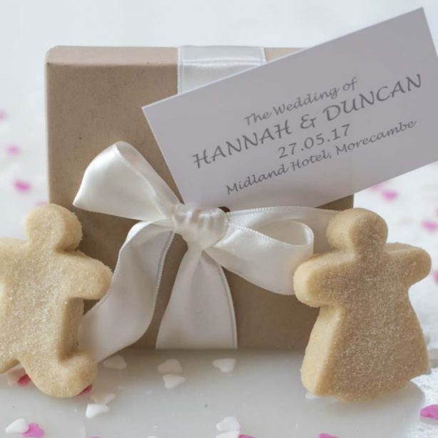 10 x Boxed Shortbread Wedding Favours