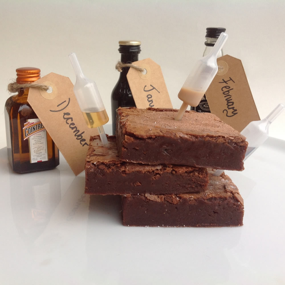 Christmas Boozy Brownie Subscription