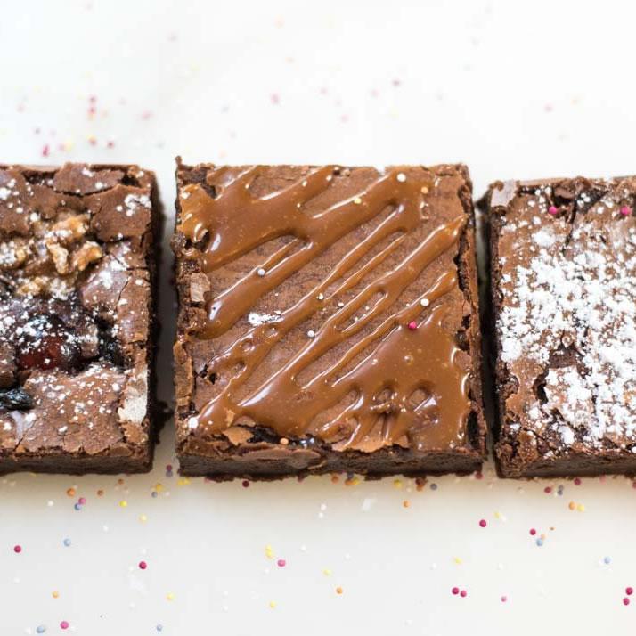 Christmas Brownie Selection Box
