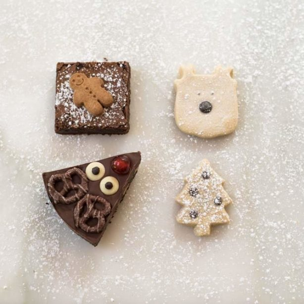 Christmas Chocolate & Shortbread Selection Box