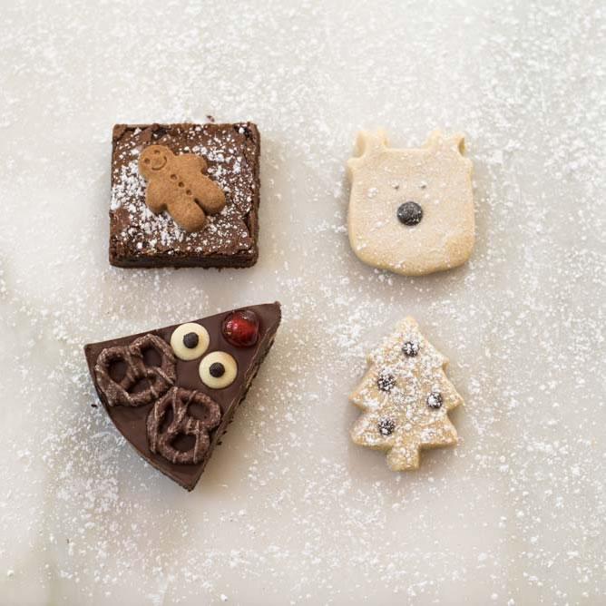 Christmas Chocolate & Shortbread Selection Box