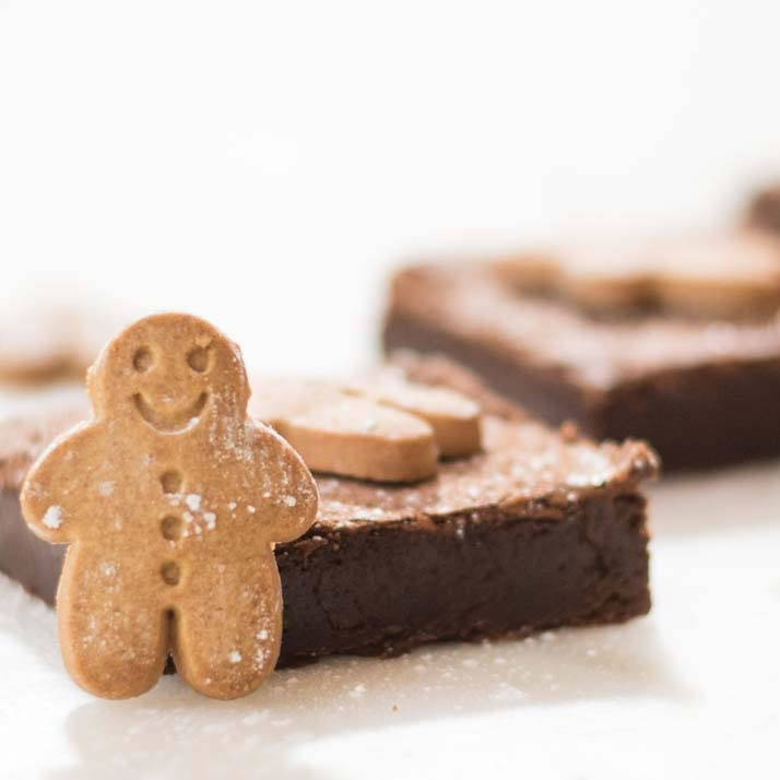 Gingerbread brownies Gift Box