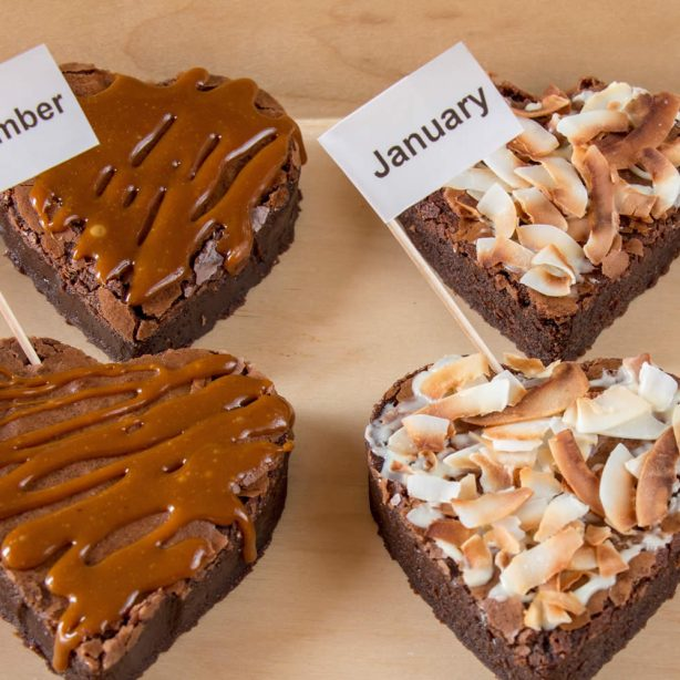 Two Person Gluten Free Brownie Subscription